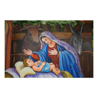 Mary and Jesus Stationery