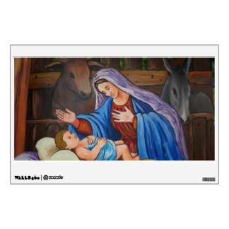 Mary and Jesus Wall Sticker