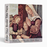 Mary And John The Baptist, Pray To The Christ Chil Vinyl Binder