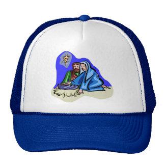 Mary and Joseph Christian artwork Hats