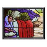 Mary and Joseph Nativity card Post Cards