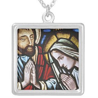 MARY AND JOSEPH REIGIOUS NECKLACE