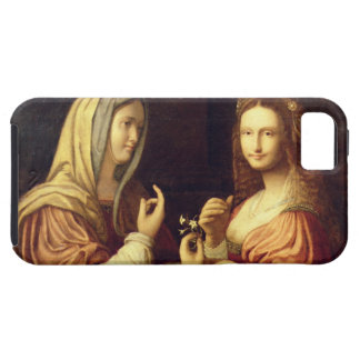 Mary and Martha (oil on panel) iPhone SE/5/5s Case