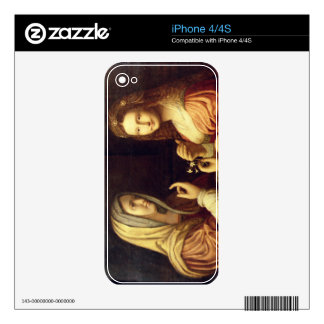 Mary and Martha (oil on panel) Skin For The iPhone 4S