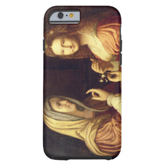Mary and Martha (oil on panel) Tough iPhone 6 Case