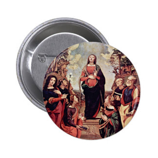 Mary And Saints: St. Catherine St. Margaret St. Jo Buttons