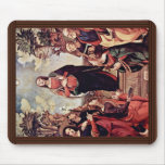 Mary And Saints: St. Catherine St. Margaret St. Jo Mouse Pad