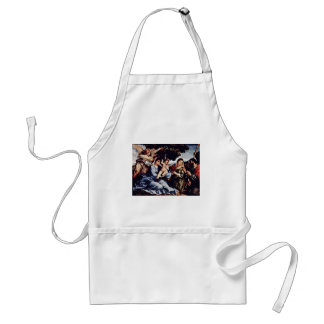 Mary And St. Catherine Of Alexandria St. James D. Apron