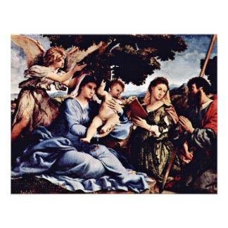 Mary And St. Catherine Of Alexandria St. James D. Custom Invite