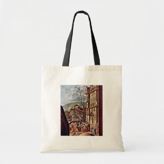 Mary And St. Elizabeth St. Nicholas And St. Anthon Budget Tote Bag