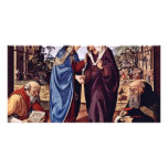 Mary And St. Elizabeth St. Nicholas And St. Anthon Picture Card