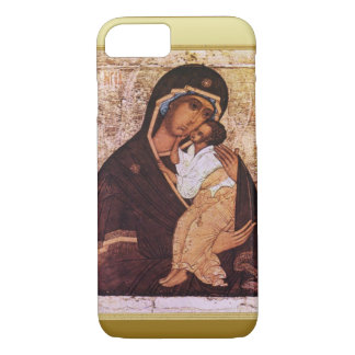 Mary and the baby Jesus iPhone 7 Case