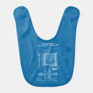Mary Anderson - Windshield Wipers Baby Bib