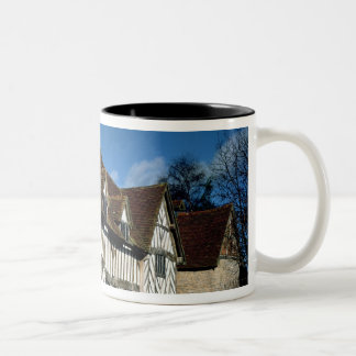 Mary Arden's House Two-Tone Coffee Mug