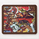 Mary As Queen Of Heaven By Meister Der Legende Der Mouse Pads