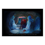 Mary at the Tomb of Christ Posters