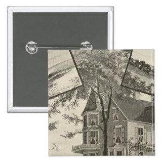 Mary Baker Eddy residence Button