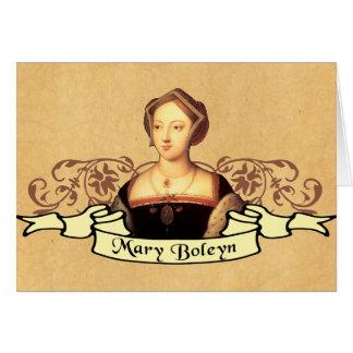 Mary Boleyn Greeting Card