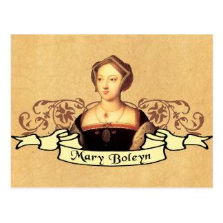 Mary Boleyn Postcard