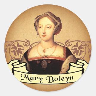 Mary Boleyn Classic Round Sticker