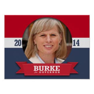MARY BURKE CAMPAIGN POSTER