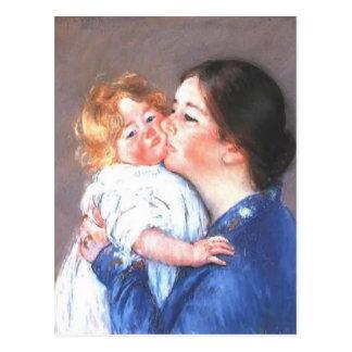 Mary Cassatt: A Kiss for Baby Anne (no.2) Postcard