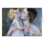 Mary Cassatt: A Kiss for Baby Anne (no. 3) Card