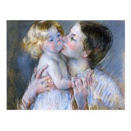 Mary Cassatt: A Kiss for Baby Anne (no. 3) Postcard