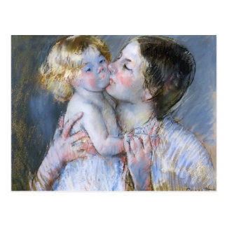 Mary Cassatt: A Kiss for Baby Anne (no. 3) Postcard
