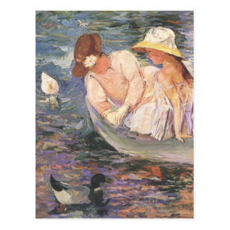 Mary Cassatt Art Postcard