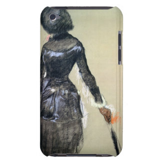 Mary Cassatt at the Louvre (pastel) Barely There iPod Cases