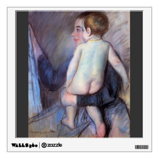 Mary Cassatt: At the Window Wall Sticker