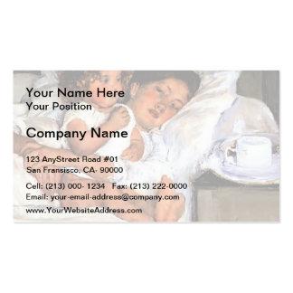 Mary Cassatt- Breakfast in Bed Business Card