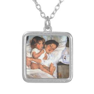 Mary Cassatt- Breakfast in Bed Custom Jewelry
