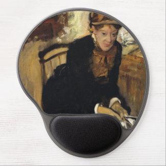 Mary Cassatt by Edgar Degas Gel Mousepads