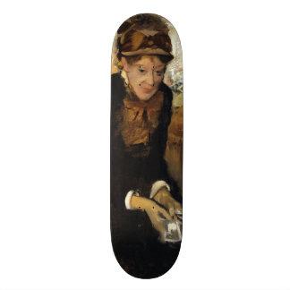 Mary Cassatt by Edgar Degas Skateboard