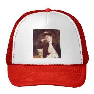 Mary Cassatt- Celeste in a Brown Hat