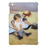 Mary Cassatt- Children Playing On The Beach Cover For The iPad Mini