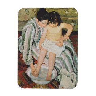 Mary Cassatt Child's Bath Impressionist Magnet