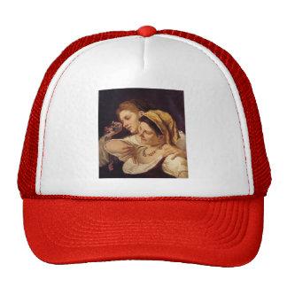 Mary Cassatt- During Carnival Hat