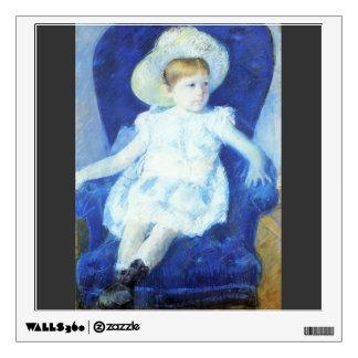 Mary Cassatt- Elsie in a Blue Chair Room Decals