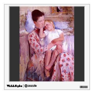 Mary Cassatt- Emmie and Her Child Wall Decals