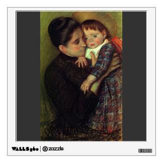 Mary Cassatt- Helene de Septeuil Wall Skin