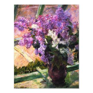 Mary Cassatt Lilacs Invitations