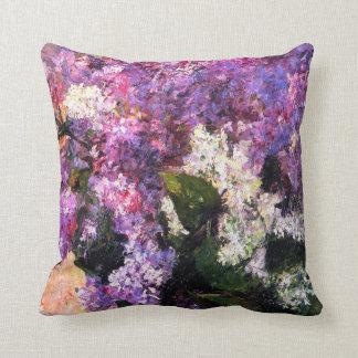 Mary Cassatt Lilacs Pillow