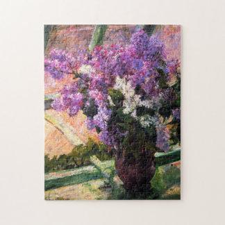 Mary Cassatt Lilacs Puzzle