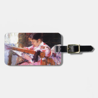 Mary Cassatt- Lydia at the Tapestry Loom Tag For Bags