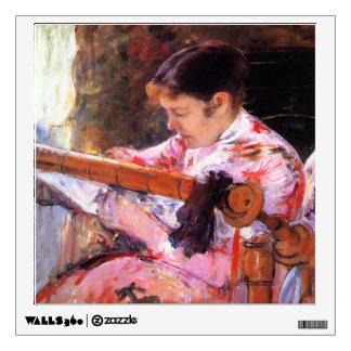 Mary Cassatt- Lydia at the Tapestry Loom Room Decal