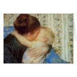 Mary Cassatt: Madre y niño Felicitacion