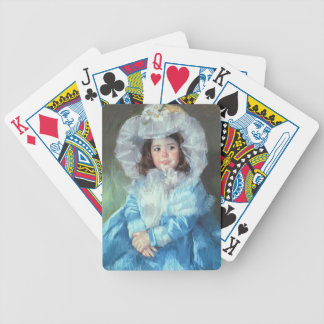 Mary Cassatt: Margot in Blue Bicycle Playing Cards